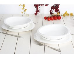 Serwis obiadowy AMBITION PARIS na 6 osób (18 el.)-- biały