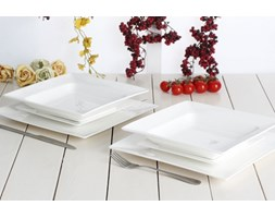Serwis obiadowy AMBITION PORTO na 6 osób (18 el.)-- biały