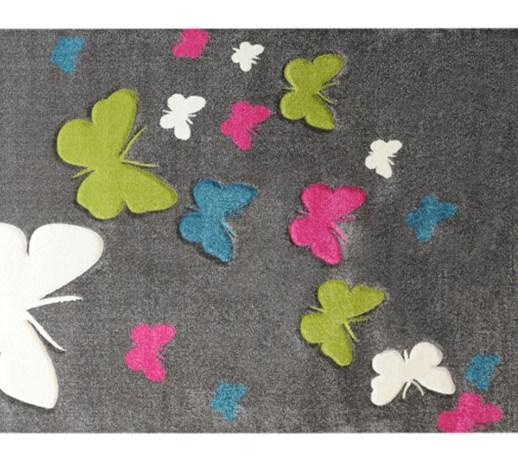 Dywan Butterfly 120x170 Szary 400313