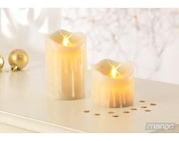 Świece woskowe LED 2szt