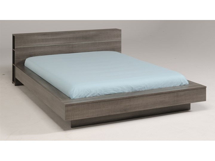 łóżko 180 X 200 Z Półką Split Dąb Lukrecja