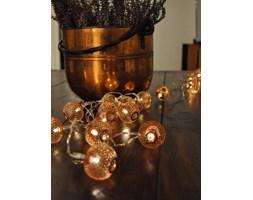 Lampki choinkowe 12 LED - Copper Lanterns, na baterie