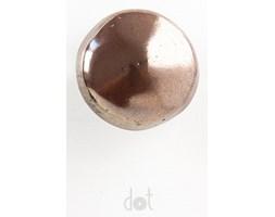 Nieregularna gałka - brązowa (metaliczna)
