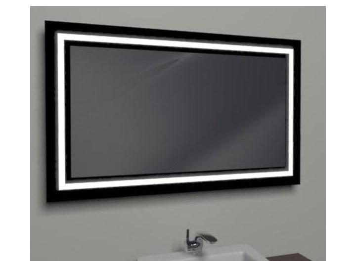 Antado Lustro Podświetlane W Czarnej Ramie 120x80cm Led L J4 Led2b