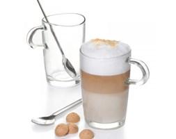 Leonardo COFFEE Szklanki - Zestaw do Kawy Latte z Łyżeczkami 2 Szt.