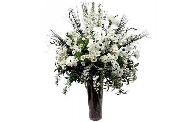 Sztuczne Kwiaty Jedwabne Jak żywe Bukiet Kwiatów Jak żywe