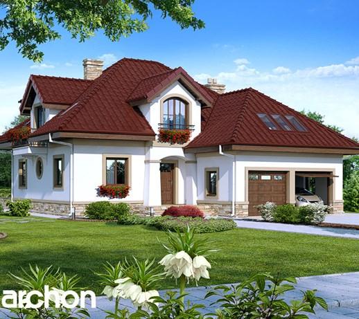 Dom W Jastrunach Projekt Archon Projekty Budowlane Zdjęcia