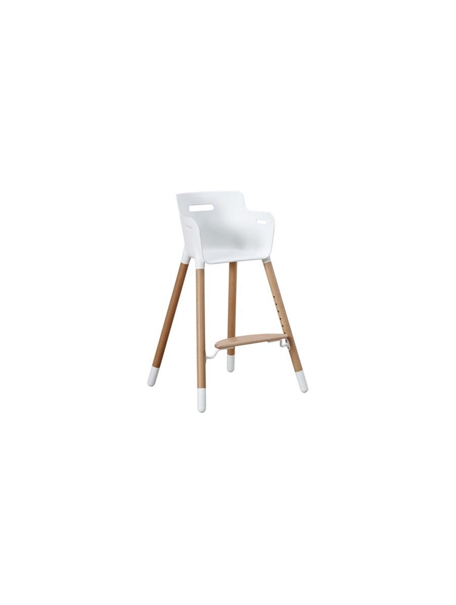 Rewelacyjny Wysokie krzesełko, PCV + lity buk, 0-12 lat, regulowana wysokość JY09