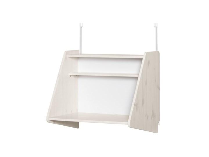 Sekretarzyk /biurko Click-on z półką do wysokiego łóżka Classic, biały; 63x72x51