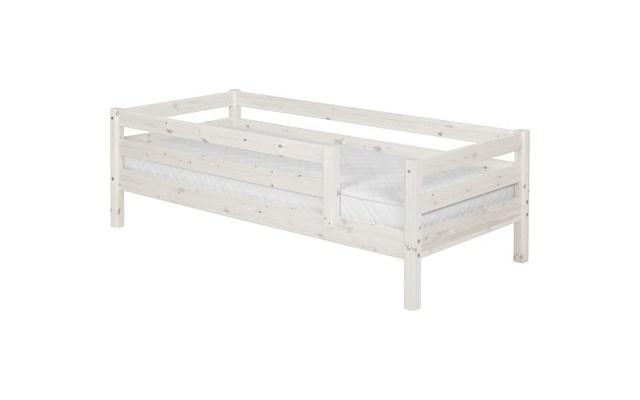 łóżko Pojedyncze Classicporęcze 11 Tylna I 34 Z Przodu Sosna Bielona