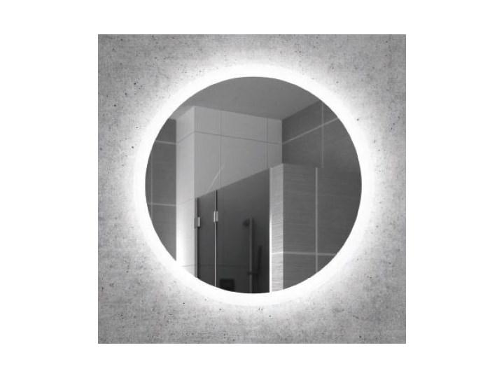 Kraft Atum Lustro Okrągłe Fi 50 Cm Z Podświetleniem Led