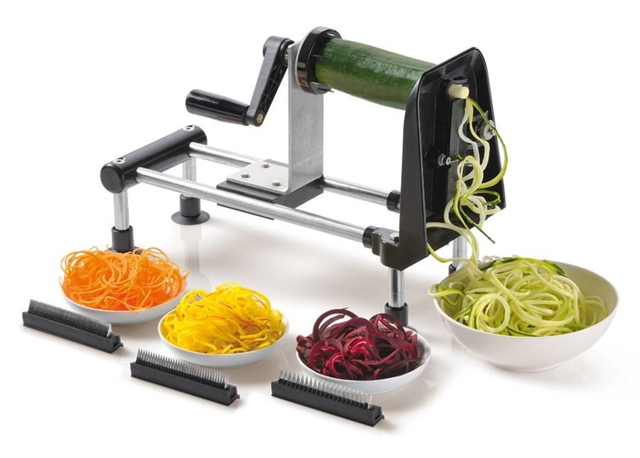 Krajalnica do spiralek z warzyw i owoc w le rouet krajalnice zdj cia pomys y inspiracje - Ustensile pour couper les legumes ...