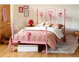 """Łóżko metalowe dla dziewczynki """"Sweety 2"""" dwa szczyty"""