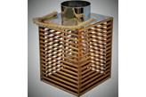 Ładny drewniany lampion do domu i ogrody 28x18