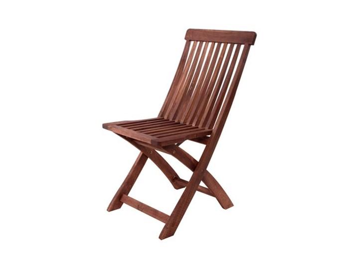 Happy Green Krzesło Drewniane Składane Akacja Bezpłatny