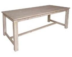 Stół drewniany bielony MURA 220x100x78 cm.