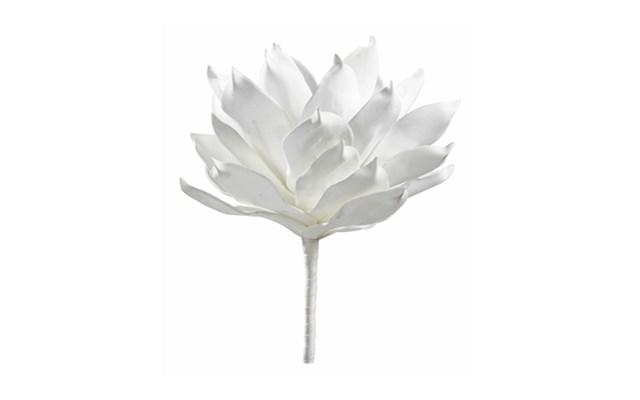 Kwiat Dekoracyjny Magnolia Biała Sztuczne Kwiaty Zdjęcia