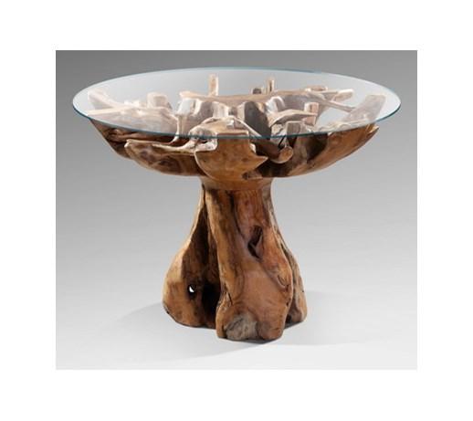 st243� drewniany ze szklanym blatem aspire sto�y kuchenne