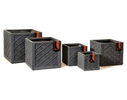 Donica ogrodowa beton akryl XL 45X45X41