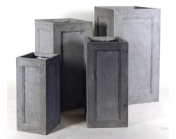 Donica ogrodowa beton akryl XL 43X43X80