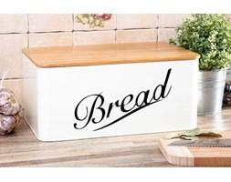 Chlebak stalowy FUENTE -- kremowy