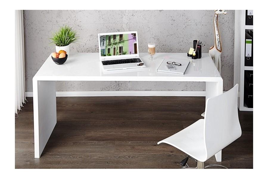 Tremendous Large Office Desk: Stół Biurowy White Bottom 160 Cm