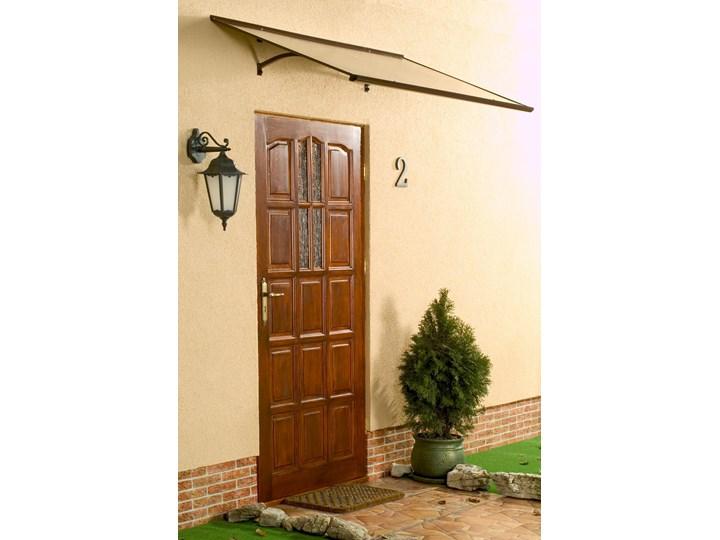 Lanitplast Daszek Nad Drzwi Meles 160 Brązowy Dostawa
