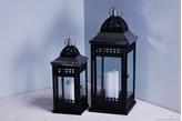 Komplet metalowych lampionów