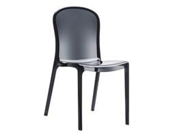 Krzesło - Siesta - Victoria - czarny transparentny