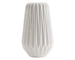 Biały wazon origami