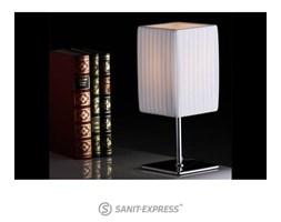 Biała lampa stołowa 25x10x10 cm i4245