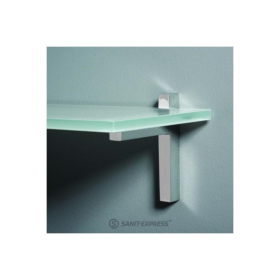 Glasspoint Akcesoria Półka Szklana 35x165 Cm Bordowa Pl435 35