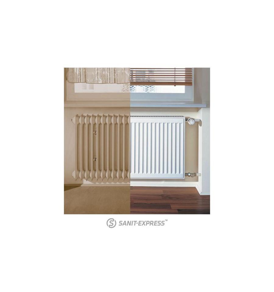 kermi therm x2 profil k grzejnik p ytowy therm x2 profil k modernizacyjny typ 33 554x1000 mm. Black Bedroom Furniture Sets. Home Design Ideas