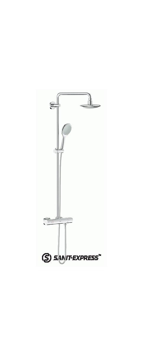 grohe rainshower solo system natryskowy 27362000 zestawy prysznicowe zdj cia pomys y. Black Bedroom Furniture Sets. Home Design Ideas