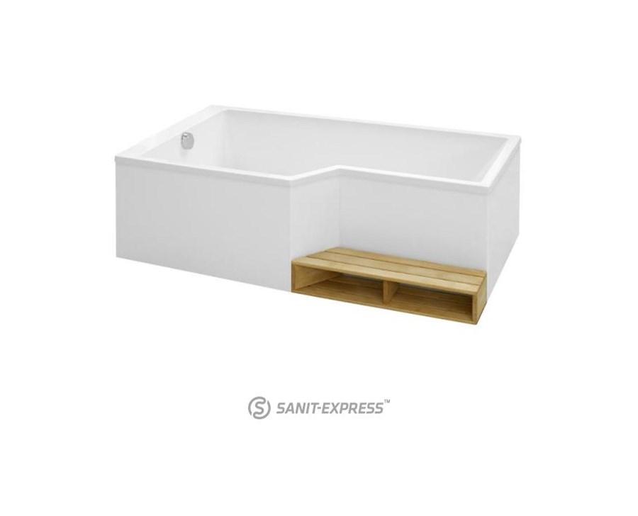 kohler bain douche neo wanna prostok tna 160x90 70 cm wersja lewa 6d000l 00 wanny zdj cia. Black Bedroom Furniture Sets. Home Design Ideas