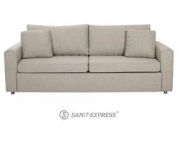 Glaze Sofa Rozkładana Beżowa Tkanina 0000037362