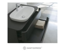 Globo Genesis Szafka pod umywalkę - brąz GAMO1MN