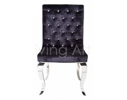 Krzesło BIJOU STEEL, kare design