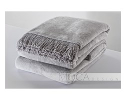 Koc Moca Design srebrny 150x200 cm