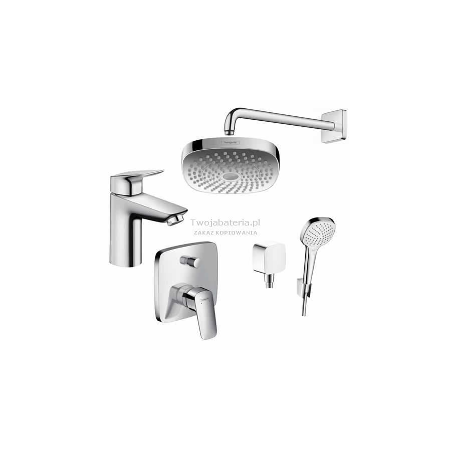Hansgrohe Logis Pakiet Prysznicowy Podtynkowy Logis 100 52054377