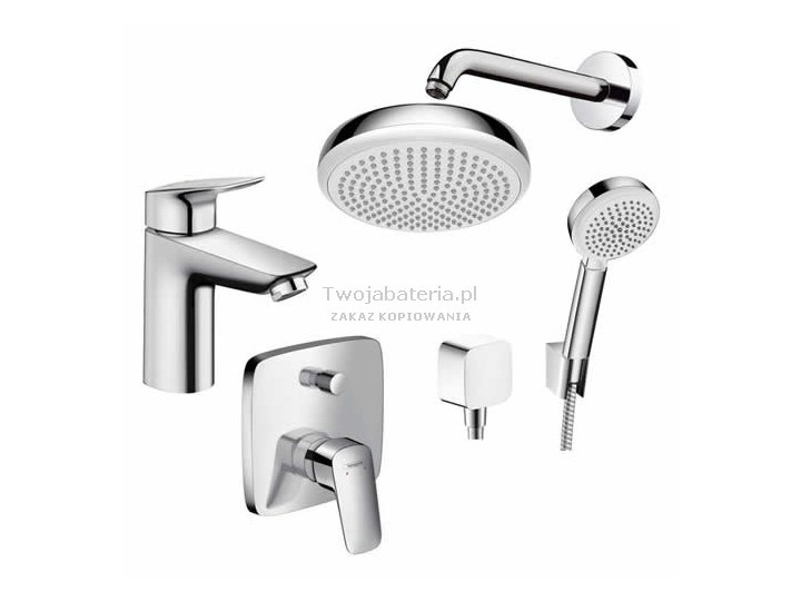 Gut gemocht Hansgrohe Logis 100. Latest Off On Hansgrohe Logis Basin Mixer LY37