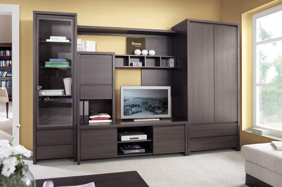 Стенки для гостиной, стенки-горки, наборная мебель в гостиную