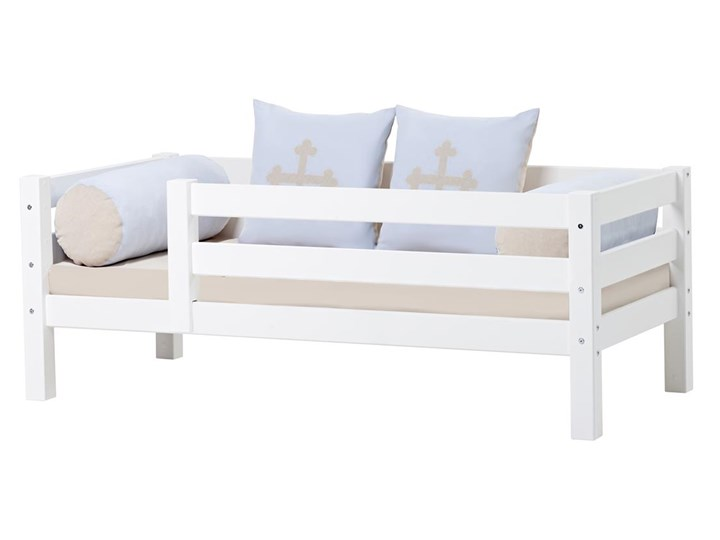 łóżko Dziecięce Z Litego Drewna Barierka Fairytale Knight Basic A2