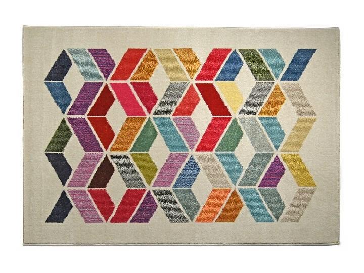 Dywan Mito 371 150x220 Wielokolorowy Family Fabrics