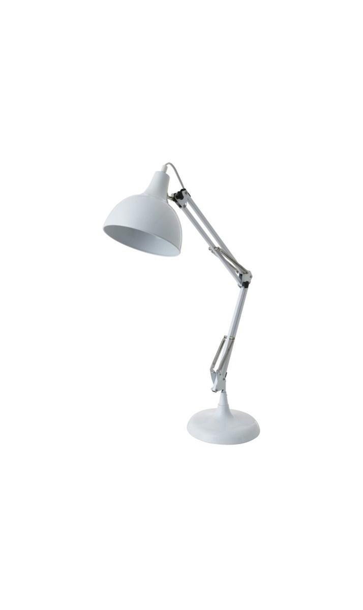 Light & Living : Light & Living Hobby Lampa Biurowa Biała 40 cm - 1811226 ...
