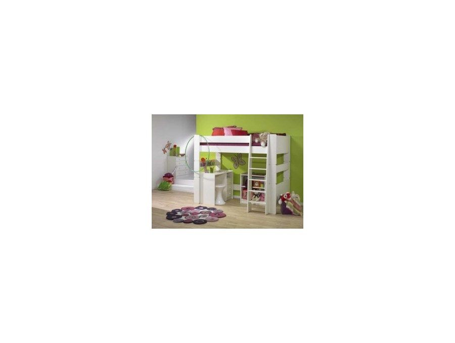 dzieci cy zestaw mebli steens for kids bia y mdf. Black Bedroom Furniture Sets. Home Design Ideas