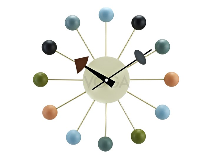 Ball Clock multicolor 1