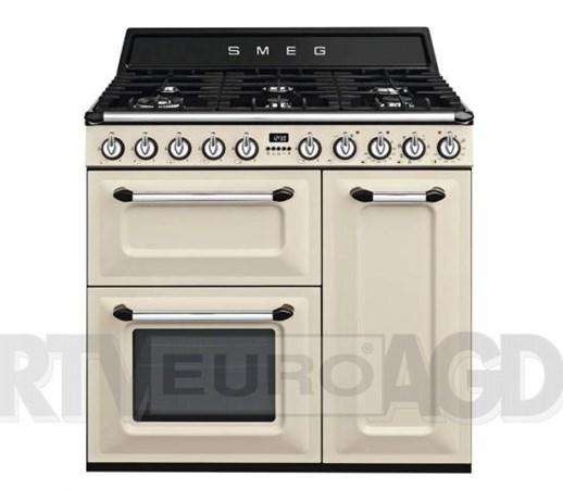 Smeg Victoria TR93P Kuchnia gazowo elektryczna  Kuchenki   -> Kuchnia Gazowo Elektryczna Smeg