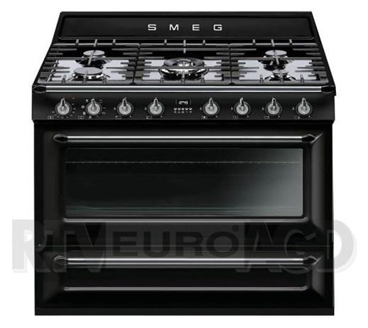 Smeg Victoria TR90BL Kuchnia gazowo elektryczna  Kuchenki   -> Kuchnia Gazowo Elektryczna Smeg