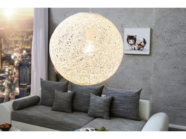 IiNTERIOR Cocoon Lampa Wisząca 35 cm Biała - i35150